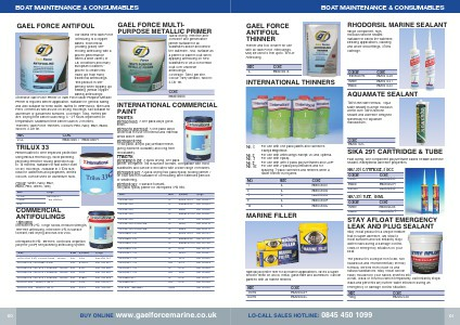 Gael Force Marine Commercial Catalogue 2015-16 - Page 62