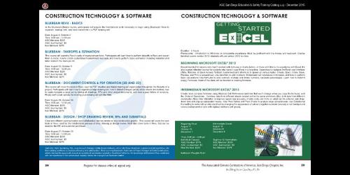 AGC San Diego Construction Education & Safety Training
