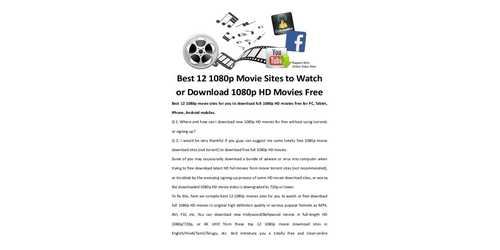how to download full movies for free on computer