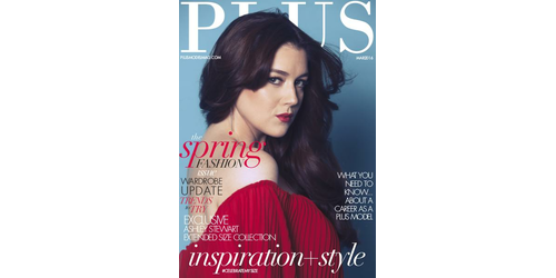 PLUS MODEL MAGAZINE March 2016 Issue 694880ccb31