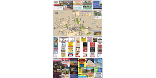 Map of the Big Bend & Davis Mountains 2016