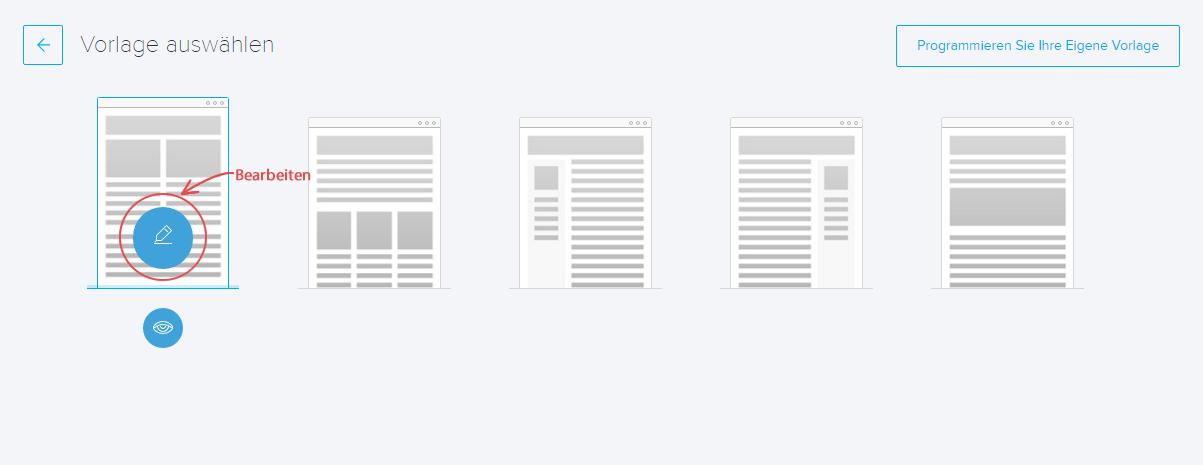 Wie erstelle ich eine E-Mail Vorlage für Kampagnen | Joomag Hilfe-Center