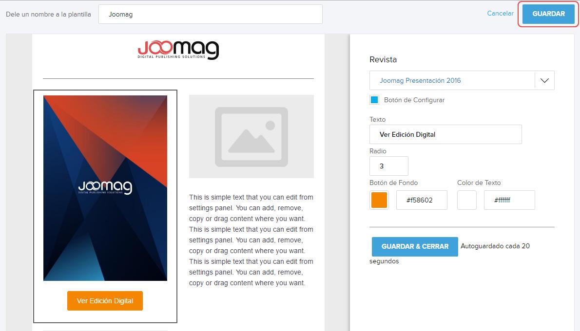Cómo crear una Plantilla de Email para Campaña? | Centro de Ayuda ...